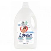 Lovela Baby Bílé prádlo Hypoalergenní, jemný tekutý prací přípravek 50 pracích dávek 4,5 l