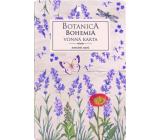 Bohemia Gifts Botanica Aromatická vonná karta Levandule 10,5 x 16 cm
