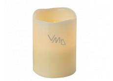 Emos Svíčka LED svítící jantarová, 10 x 8 cm