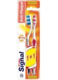 Signal Anti-Plaque střední zubní kartáček 2 kusy, duopack