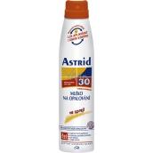Astrid F30 Mléko na opalování ve spreji 200 ml