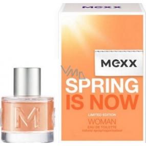 Mexx Spring Is Now Woman toaletní voda 40 ml