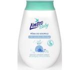 Linteo Baby Bio s Měsíčkem lékařským pěna do koupele a koupel 250 ml