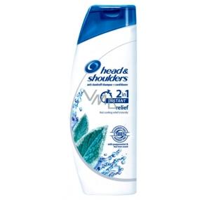 Head&Shoulders 2in1 Instant Relief proti lupům šampon a balzám na vlasy 400 ml