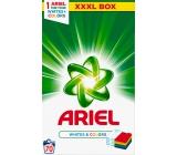 Ariel Whites + Colors prací prášek na barevné i bílé prádlo krabice 70 dávek 5,25 kg