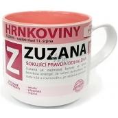 Nekupto Hrnkoviny Hrnek se jménem Zuzana 0,4 litru