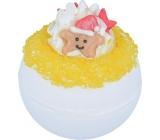 Bomb Cosmetics Zářicí hvězda - Twinkle Star Šumivý balistik do koupele 160 g