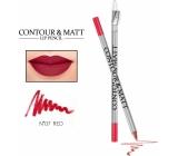 Revers Contour & Matt Lip Pencil konturovací tužka na rty 07 Red 2 g