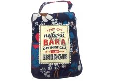 Albi Skládací taška na zip do kabelky se jménem Bára 42 x 41 x 11 cm