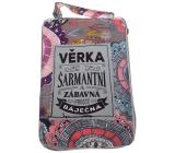 Albi Skládací taška na zip do kabelky se jménem Věrka 42 x 41 x 11 cm