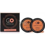 Millefiori Milano Go Vanilla & Wood - Vanilka a dřevo vůně do auta náhradní náplň, voní až 2 měsíce 2 x 13 g