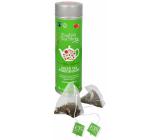 English Tea Shop Bio Zelený čaj s Granátovým jablkem 15 kusů bioodbouratelných pyramidek čaje v recyklovatelné plechové dóze 30 g