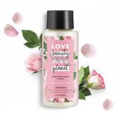 Love Beauty & Planet Murumurské máslo a Růže Blooming Color šampon na barvené vlasy 400 ml