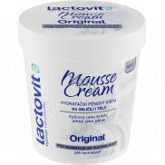Lactovit Original Mousse Cream hydratační pěnový krém na obličej i tělo pro normální až suchou pokožku 250 ml