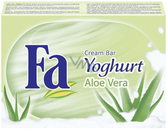 Fa Joghurt & Aloe Vera tuhé toaletní mýdlo 100 g