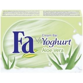 Fa Yoghurt Aloe Vera tuhé toaletní mýdlo 100 g