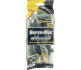 Super-Max Ultimate 3 jednorázový 3břitý holící strojek pro muže 8 kusů
