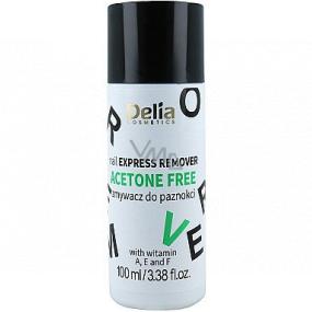 Delia Cosmetics Acetone Free bezacetonový odlakovač na nehty 100 ml