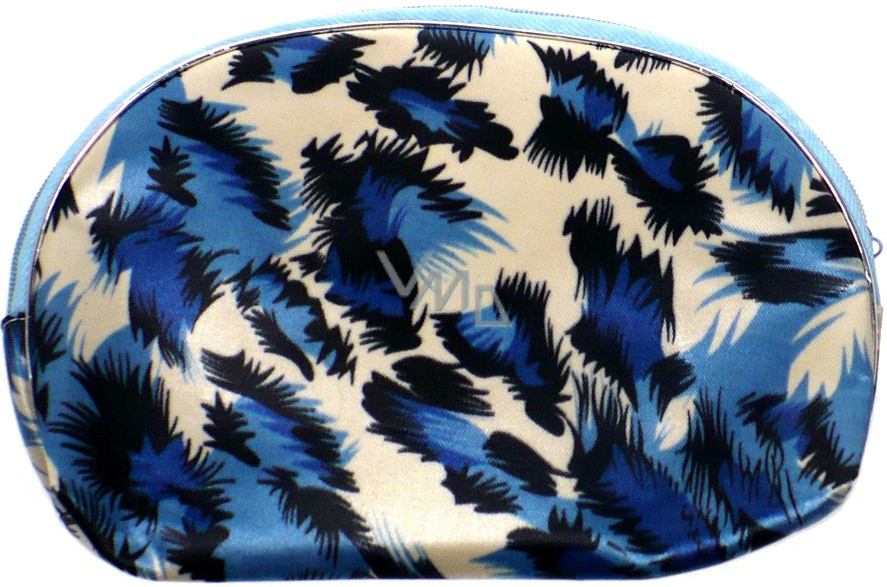 Etue Tygrovitá bílo-modro-černá 13 x 10 x 1,5 cm 1 kus 70100