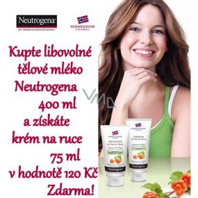 DÁREK Neutrogena Nordic Berry výživný krém na ruce 75 ml pro suchou pokožku