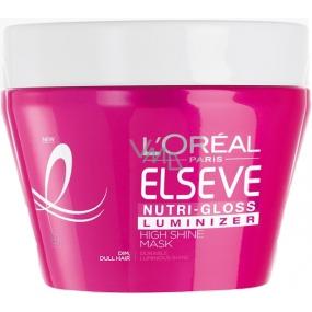 Loreal Paris Elseve Nutri Gloss Luminizer maska na vlasy pro oslnivý lesk 300 ml