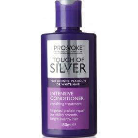 Pro:Voke Touch of Silver intenzivní kondicionér na blond, platinové nebo bílé vlasy 150 ml