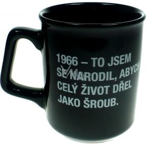Albi Black & White Hrnek 1966 - To jsem se narodil, abych.. 260 ml