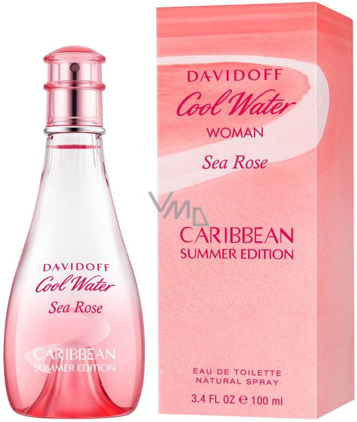 Davidoff Cool Water Sea Rose Caribbean Summer Edition toaletná voda pre ženy 100 ml