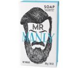 Somerset Toiletry Pan Mužný luxusní třikrát mleté toaletní mýdlo s bambuckým máslem a svěží vůní šalvěje pro muže 200 g
