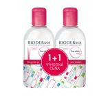 Bioderma Sensibio H2O micelární voda pro citlivou pleť 2 x 250 ml, duopack
