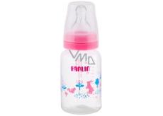 Baby Farlin Kojenecká láhev standardní 0+ měsíců růžová 140 ml AB-41011 G