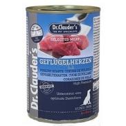 Dr. Clauders Drůbeží srdce a maso kompletní superprémiové krmivo pro dospělé psy obsahuje probiotika - látky pro dobré trávení 400 g