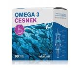 Nef de Santé Omega 3 Česnek doplněk stravy, obsahuje rybí olej 90 kapslí