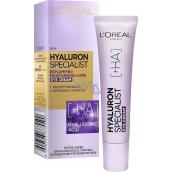 Loreal Paris Hyaluron Specialist vyplňující hydratační oční krém pro všechny typy pleti 15 ml