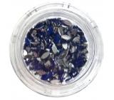 Professional Ozdoby na nehty kamínky kapka modré 132
