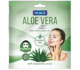 Nuagé Aloe Vera a Kyselinou hyaluronová 15 minutová hydratační pleťová maska 1 kus