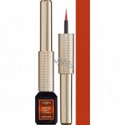 Loreal Paris Matte Signature Eyeliner tekuté oční linky 07 Copper Signature 3 ml