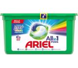 Ariel All-in-1 Pods Touch of Lenor Fresh Color gelové kapsle na praní prádla 33 kusů 785,4 g
