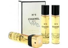 Chanel No.5 toaletní voda náplně pro ženy 3 x 20 ml