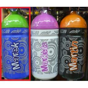 Nekupto Láhev pro zdravé pití s názvem Marek 0,5 l 1 kus