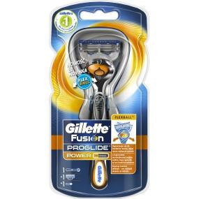 Gillette Fusion ProGlide Flexball Power holící strojek pro muže 1 kus + 1 náhradní hlavice + baterie 1 kus