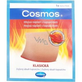 Cosmos Hřejivá náplast s kapsaicinem klasická 12,5 x 15 cm
