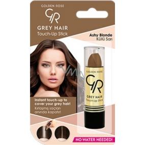 Golden Rose Gray Hair Touch-Up Stick barvící korektor na odrostlé a šedivé vlasy 09 Ashy Blonde 5,2 g