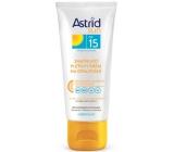 Astrid Sun OF15 zmatňující pleťový krém na opalování 75 ml