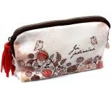 Nekupto Buď Jedinečná kosmetická taška Ptáček 20 x 11,5 x 5 cm