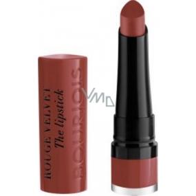 Bourjois Rouge Velvet The Lipstick rtěnka 24 Parisienne 2,4 g