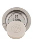 Bohemia Gifts Ručně vyráběné toaletní mýdlo s glycerinem na plechové podložce Gentleman 80 g