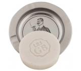 Bohemia Gifts & Cosmetics Ručně vyráběné toaletní mýdlo s glycerinem na plechové podložce Gentleman 80 g