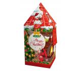 Liran Vánoční balení černého čaje Věž červená 20 x 2 g