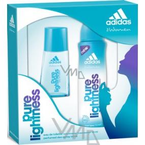 Adidas Pure Lightness toaletní voda 30 ml + deodorant sprej 150 ml, dárková sada